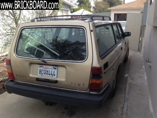 Volvo  -- Volvo 240DL Wagon for parts or project